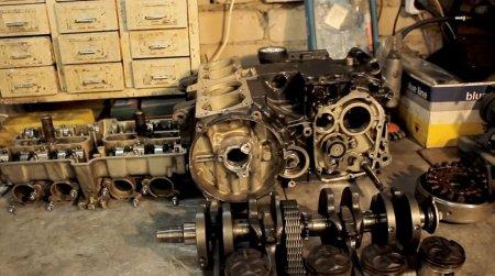 Разбор двигателя часть 2